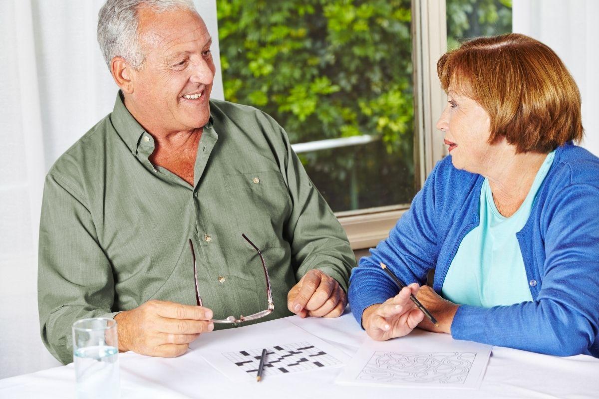 zaniki pamięci u osób starszych