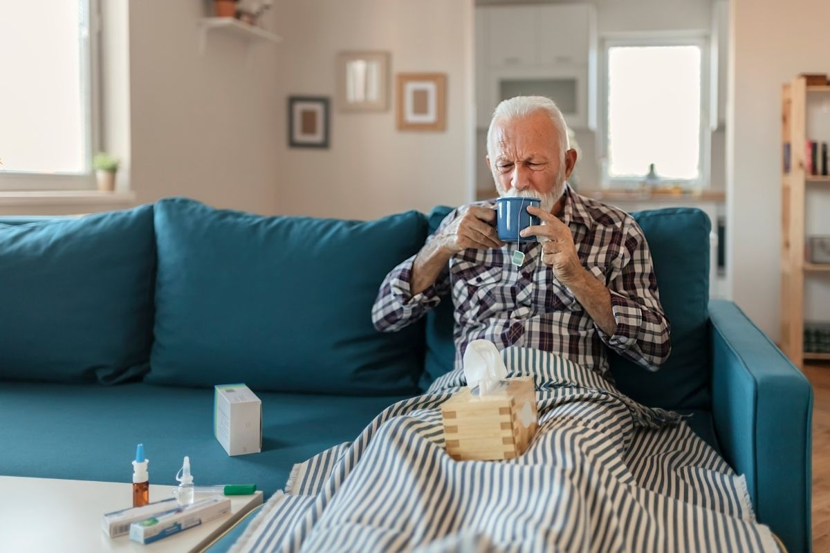 przeziębienie u osoby starszej