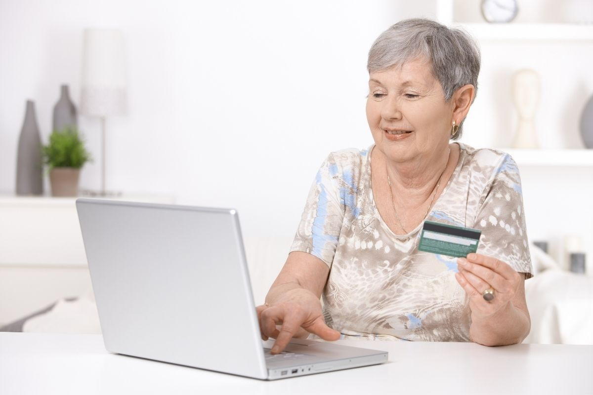 senior w sieci