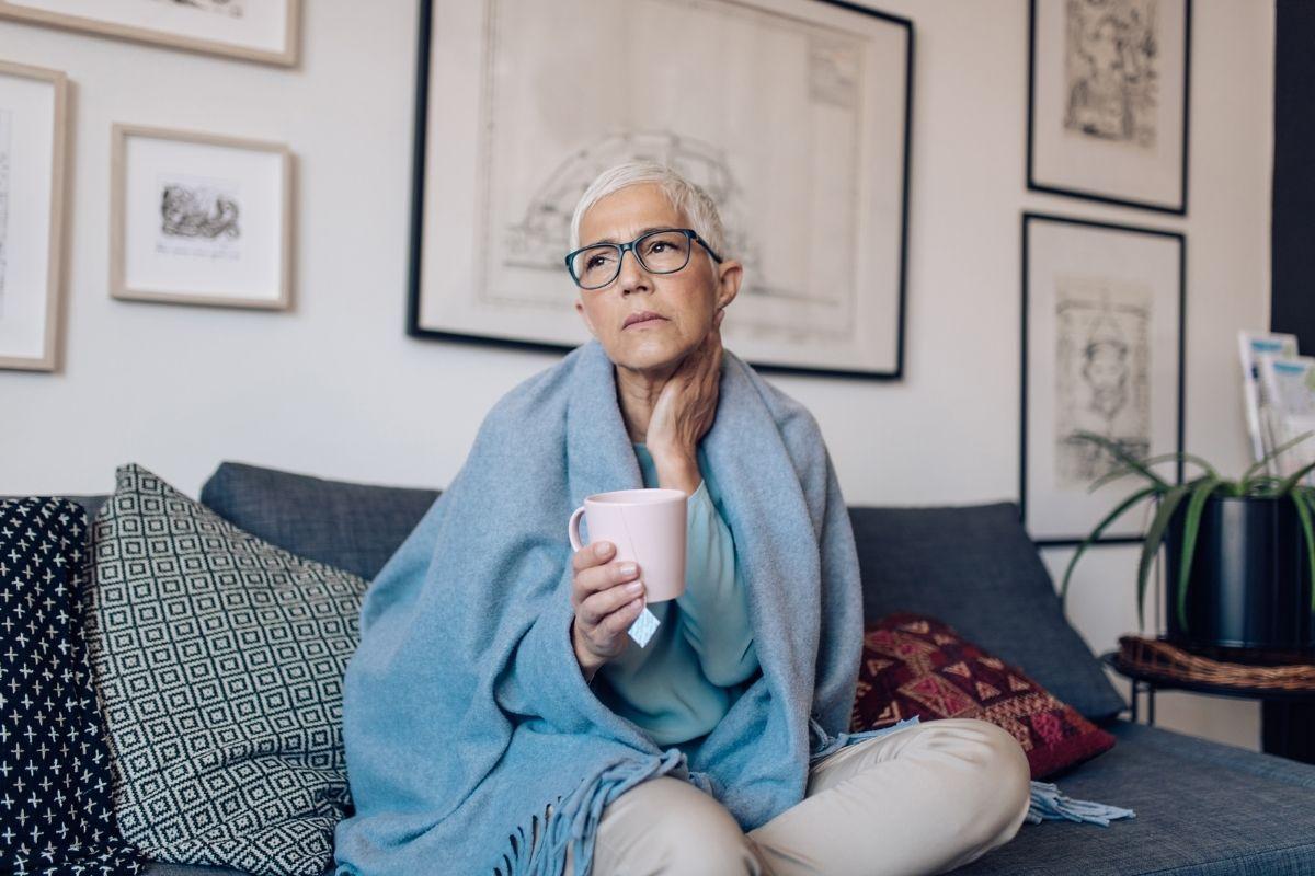 przeziębienie u seniora